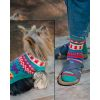 Fiber Trends - Pattern - AC46 Walking The Dog socks & dog coat