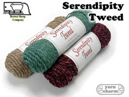 Brown Sheep Serendipity Tweed