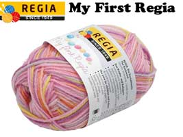 Regia 4-ply Sock 25g - My First