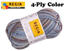 4-Ply Color Sock
