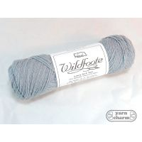 Brown Sheep Wildfoote Luxury Sock - SY64 Light Blue Slate
